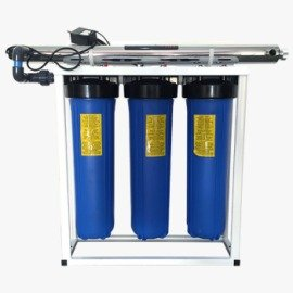 Rainwater Filtration with UV Sterilizer