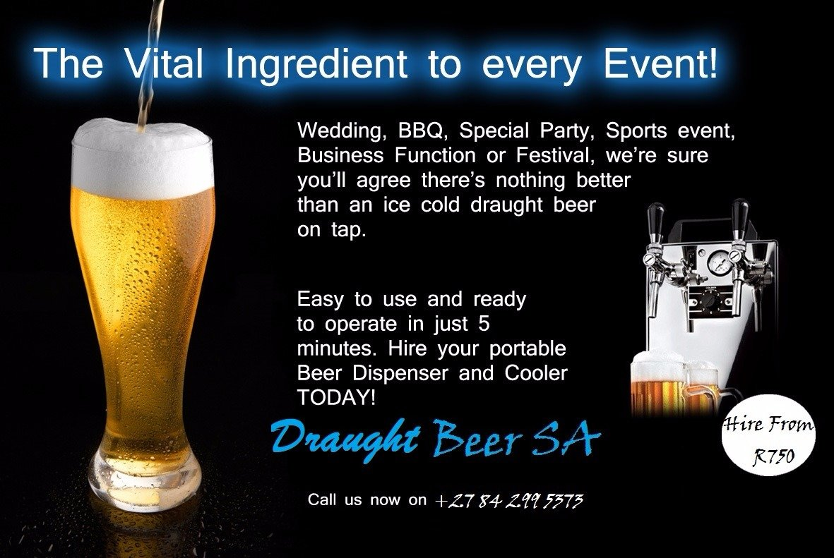 Rental Of Draught Beer Equipment